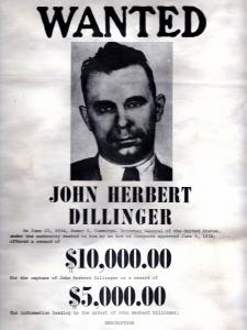 dillinger wanted