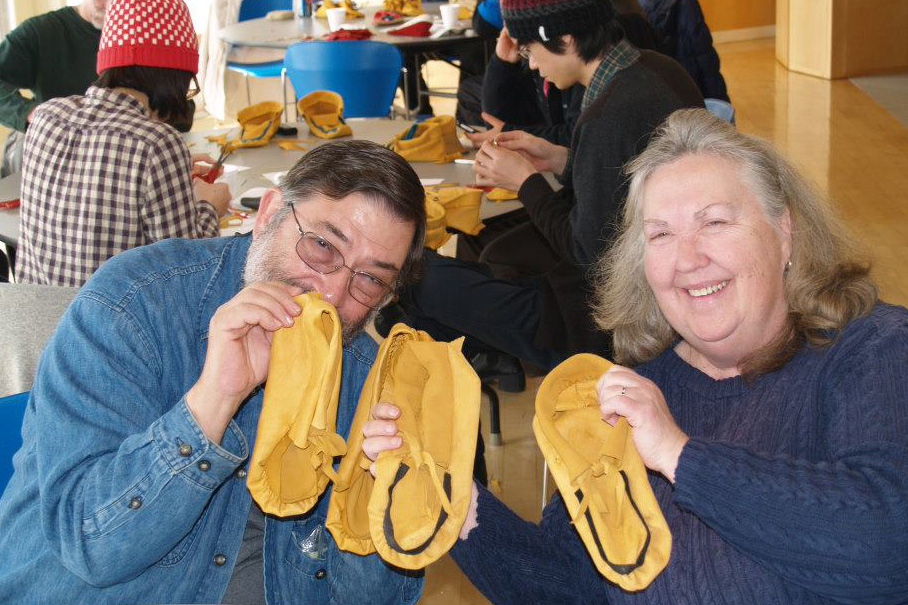 moccasin workshop