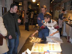 Baking activities at Mill City Museum