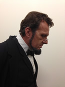 Abraham Lincoln actor George Buss
