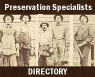Preservation Specialists Directory